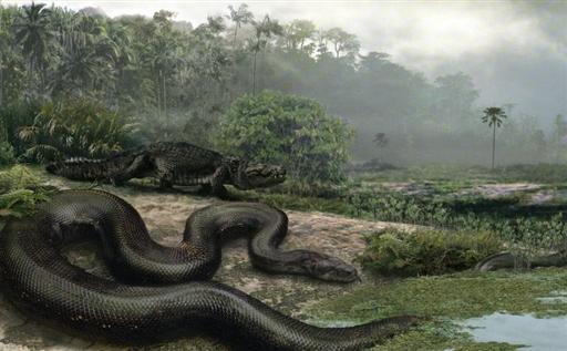 SCIENCE-PALAEONTOLOGY-ANIMALS-SNAKE