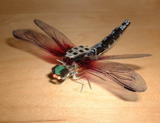 solar-dragonfly-robot